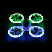 2016 New Design  Mini Drone Helicopter UFO JXD 398 Lighting RC Quadcopter 2.4G 4CH 6 Axis with Fantastic LED Light Original
