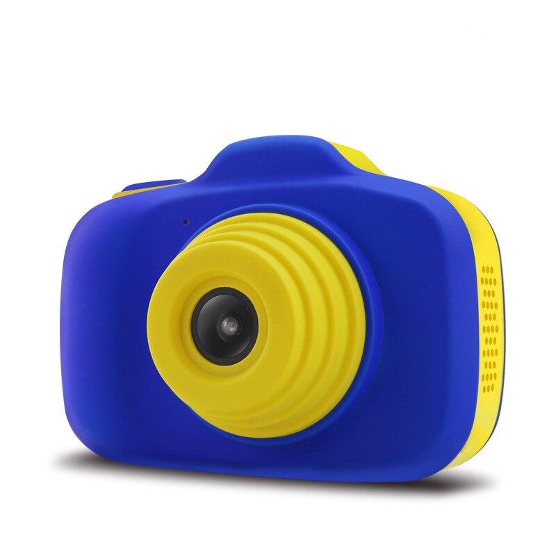 Caméra antichoc pour enfants avec caméscope à double objectif pour enfants en plein air S7JN