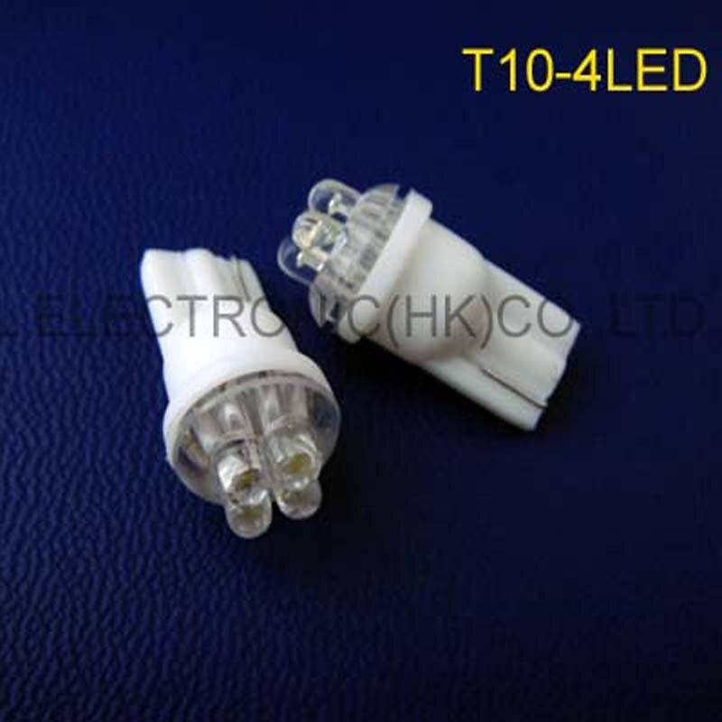 Высокое качество 6 В светодиодный индикатор, привело световой сигнал, контрольная лампа 158,168,194,912, W5W, w3w, 501, T10 танкетке Бесплатная доставка 100 ...