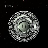 YIJIE EDC DISC Fidget Spinner Hand Spinner Metal EDC Tri Spinner Maya Mirror Torqbar Pure Steel