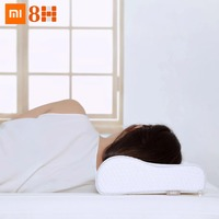 Original Xiaomi 8H Curve Slow Rebound 50D Memory Cotton Pillow H1 Super Soft Antibacterial Dehumidification Neck Support Pillow