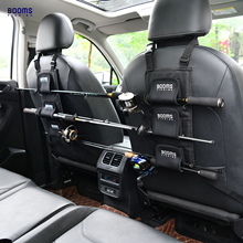 Booms Fishing VBC Rod Holder Carrier for Vehicle Backseat Holds 3 Poles Suitable car most models Tackle Tool