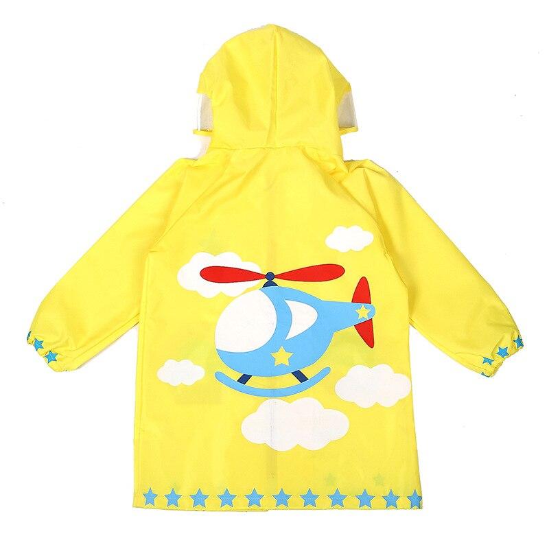 Dziecięcy płaszcz przeciwdeszczowy Fashion Cartoon Waterproof Boy - Ubrania dziecięce - Zdjęcie 3