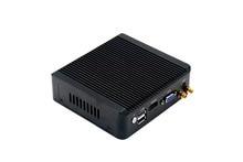 Newest 4 *Lan Quad Core J1900 Mini PC with 2G RAM 64G EMMC,WLAN VPN Router industrial pc Pfsense