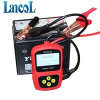 LANCOL Original MICRO 30 Motorcycle Battery Tester Autobike Battery Analyzer 12v Diagnostic Tool LCD Display
