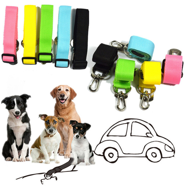1 pc Regolabile Cucciolo di Cane Cintura di Sicurezza Dell'automobile Del Veicol