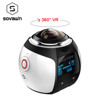 360 Degree Camera VR 4K Wifi Video Mini Panoramic 2448 2448 HD Panorama Action 30m Waterproof
