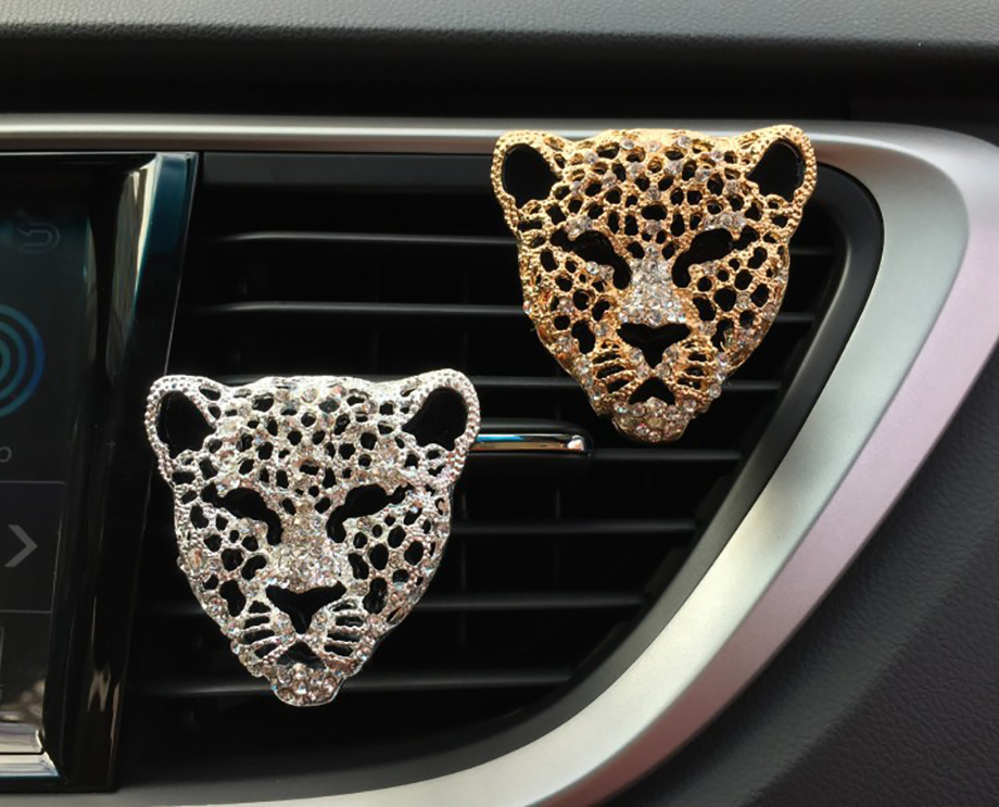 HTB1yRaBXcfrK1RkSmLyq6xGApXao Car Air Freshener In Auto Interior Decor Aroma Car Diffuser Vent Clip Diamond Leopard Solid Perfume Bling Car Accessories Auto