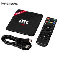 Fashion Home Theater 4K HD WI FI 3G+32GB Octa Core Android 6.0 Marshmallow MINI TV Sticker Smart TV Box US Plug NT19
