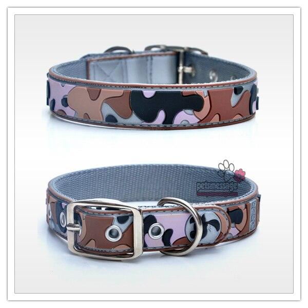 Collares de perro Productos Para Mascotas Al Por Mayor de Camuflaje Grande Colla