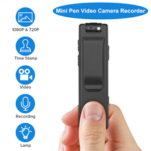 Boblov A3 HD 1080P Mini Small Camera Camcorder Body Police Pen DVR Security Video Recorder for Teaching Bicycles