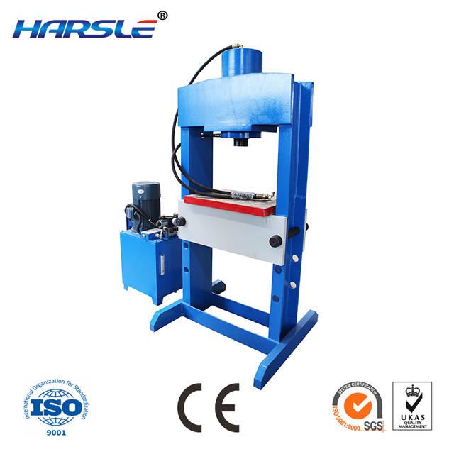 20 ton hydraulic press machine shop press with gauge