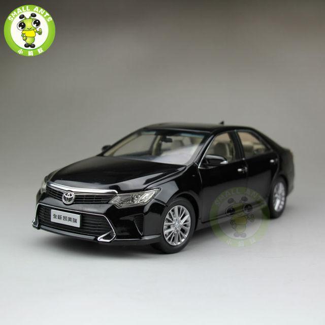 1:18 Toyota Новая Camry 2015 Литья Под Давлением Модели Автомобиля Черный