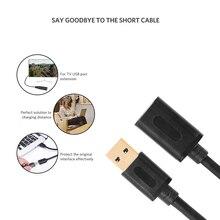 Удлинительный USB-кабель USB 3.0 Кабель для Smart TV PS4 Xbox One SSD USB3.0 2.0 к удлинителю