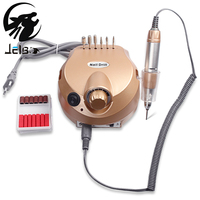 Jelbo 35000RPM Pro Professional Electric Nail Drill File Bit Machine Nail Art Handle Manicure Kit Nail
