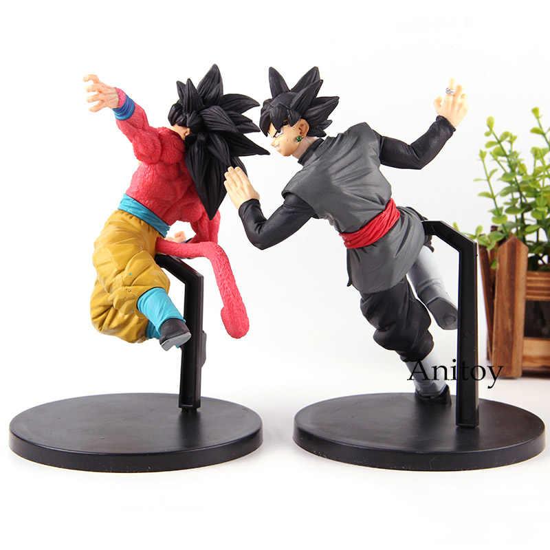 Super Dragon Ball Son Goku Figura Banpresto FES!! Son Goku Super Saiyan 4/Zamasu Goku Preto Figura de Ação do PVC Brinquedos Coleção