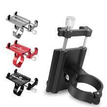 New Brand Bicycle Phone Holder for IPhone Samsung Universal Mobile Cell Phone Holder Bike Handlebar Clip Stand GPS Mount Bracket
