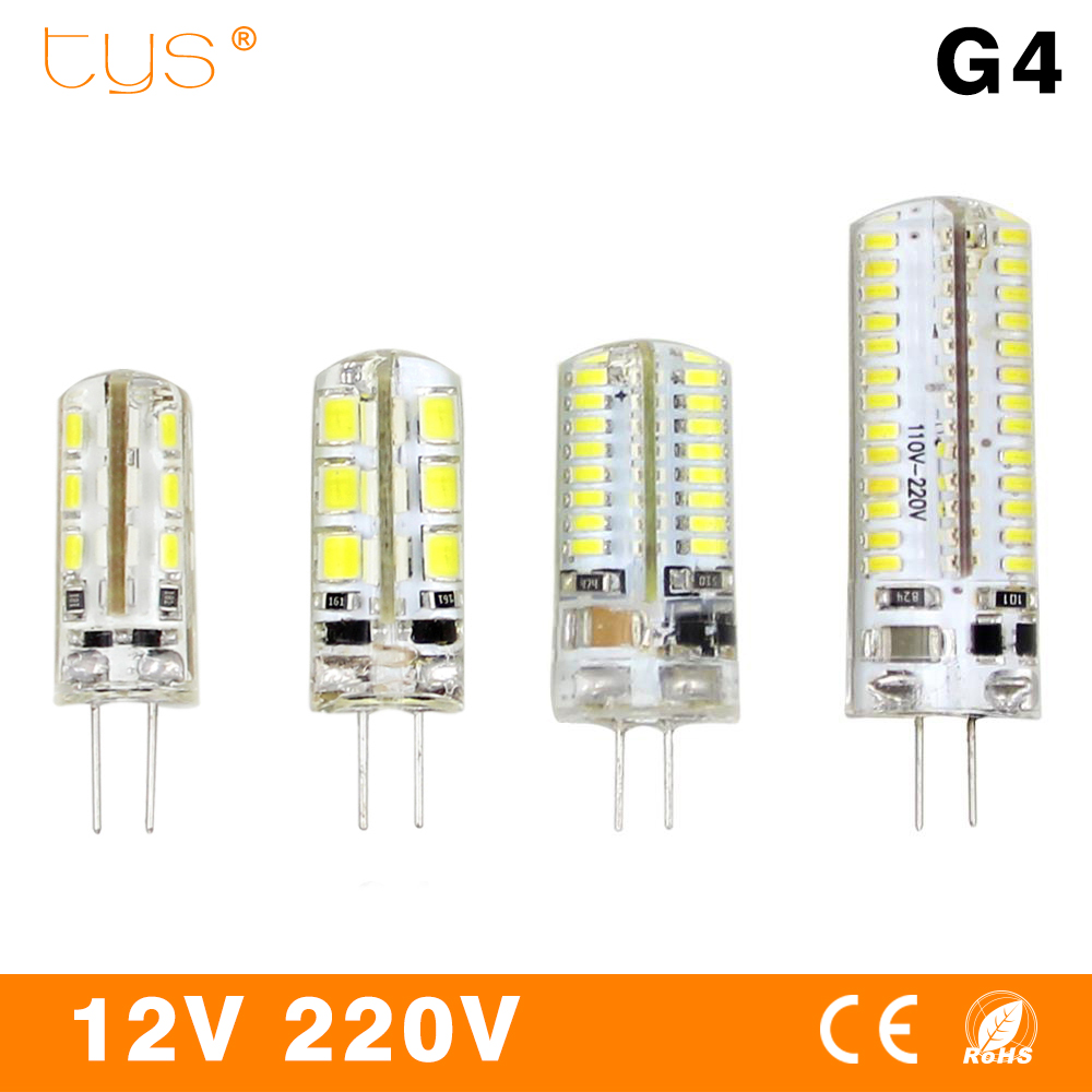 G4 LED Lamp 220V 3W 4W 5W DC 12V Lampada G4 LED bulb SMD3014 2835 24 48 64 104L Replace 10w 30w Halogen Led Light 360 Beam Angle g4 led lamp 12v ac dc smd3014 3w 5w 6w 24led 48led replace 20w 30w 40w halogen lamp 360 beam angle led bulb smd 2835
