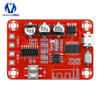 Módulo de decodificación de receptor de Audio sin pérdidas Bluetooth BLE con 2 amplificadores de potencia de 5W teatro