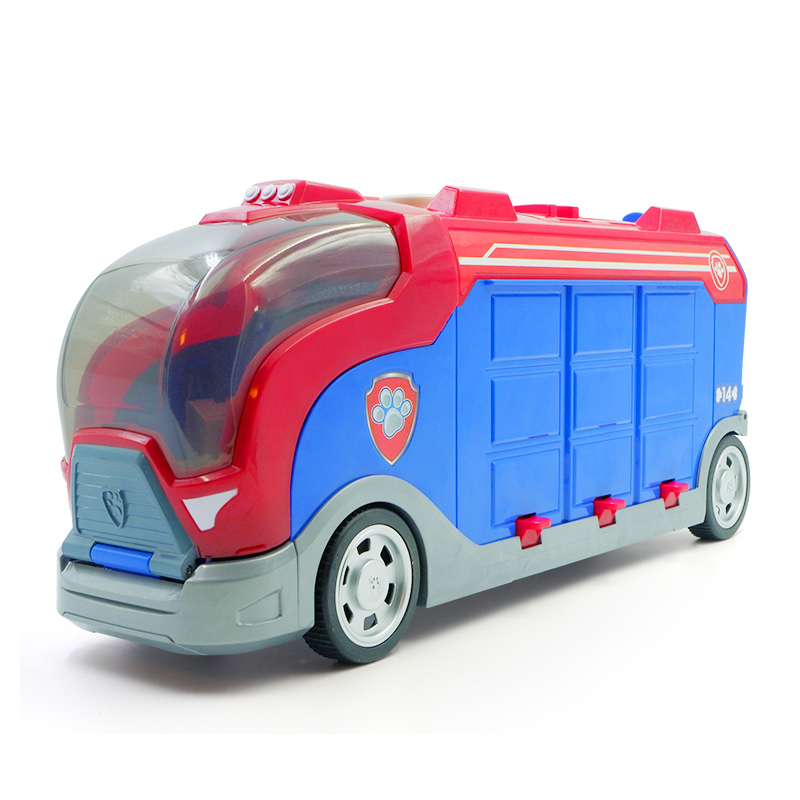 Paw Patrol Puppy Dog Sliding Team Big Truck Toy Music Rescue Team Toy Patrulla Canina Juguetes Action Figures Toy Gifts Set
