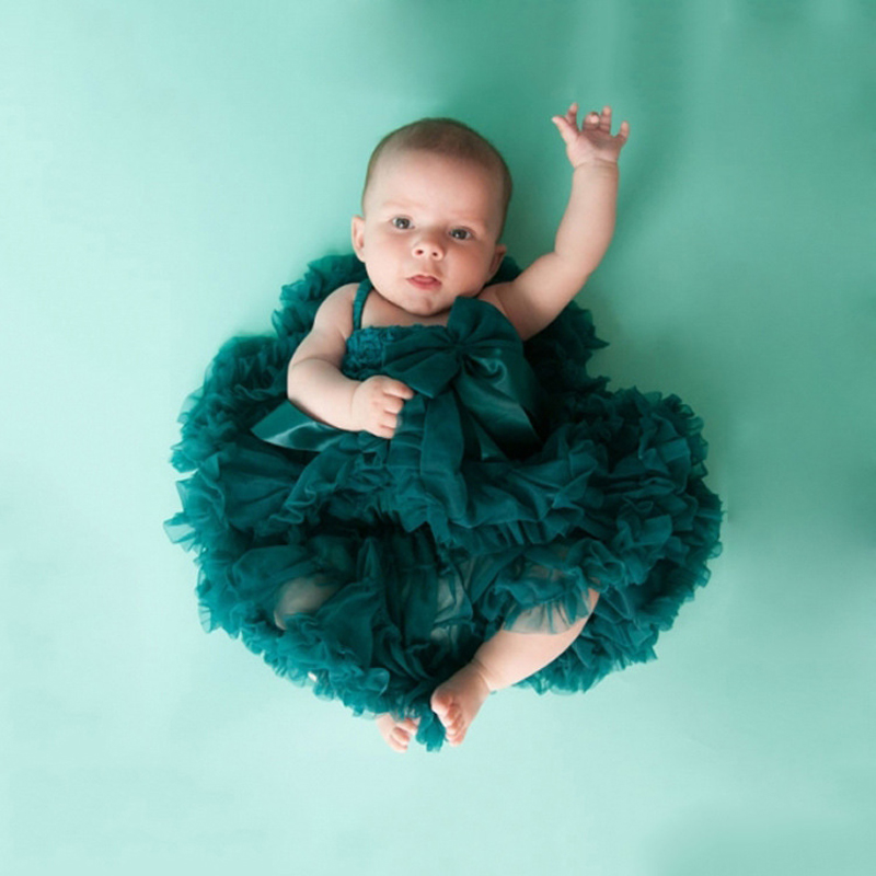 Sun Moon Kids Baby Girls Tutu Skirt 2016 Lace Infant Princess Dance Party Soft Tulle Fluffy Chiffon Pettiskirts Baby Clothes