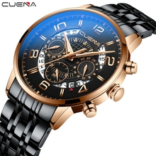 Luxury Watches For Man Fashion Sport Stainless Steel Wrist