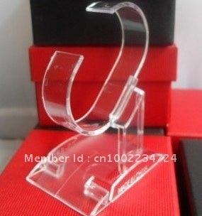 wholesale retail plastic Bracelet Wrist Watch Jewelry Display Rack Holder Show Stand