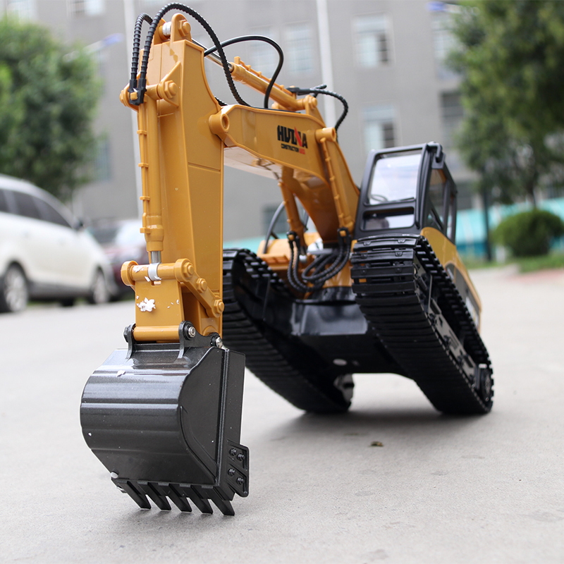 HUINA 1550 jouets RC alliage pelle RTR 1550 1:14 2.4 GHz excavateur Machine pelle SimulationHUINA 1550 jouets RC alliage pelle RTR 1550 1:14 2.4 GHz excavateur Machine pelle Simulation