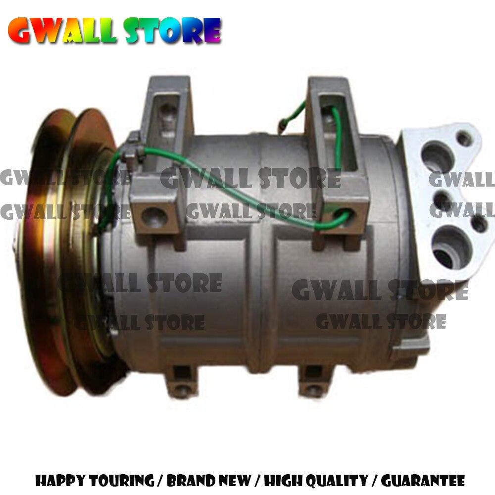 DKS15D compresseur de climatiseur pour Hitachi Crane 4456130 506211-7980 506011-9910 137mm 24 V