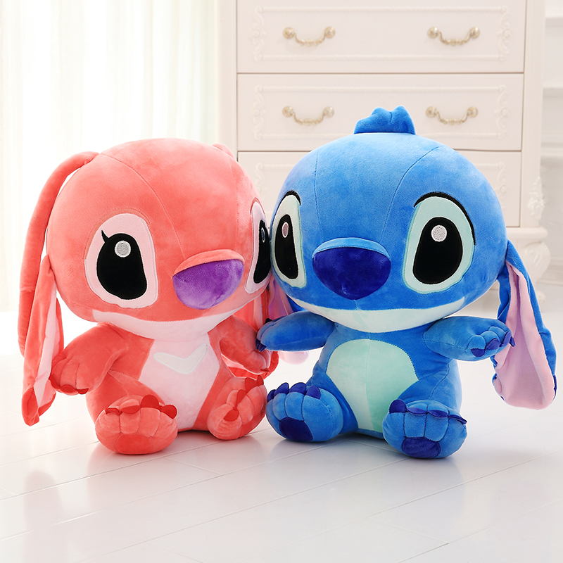 40cm Lop Ear Cute Cartoon Frozen Lilo and Stitch Plush Toy Doll Stuffed Toys Dolls Hnaging Ear Stitch Baby Toy Gift For Children  new arrival cartoon lilo