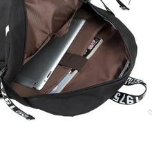 Persona 5 Vintage Canvas Backpack Large Capacity Travel School Bag Women Men College Bookbags Knapsack Backpacks for Students