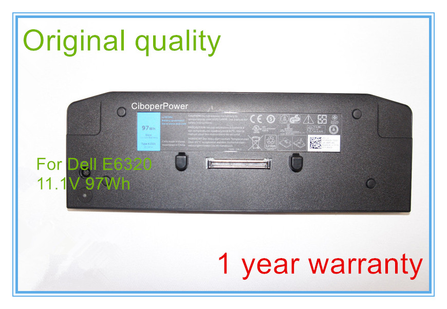 11 1V 97WH Extended Slice Battery KJ321 For E6420 E6520 E6320 E5420 XT3 Notebook 9CELL Free