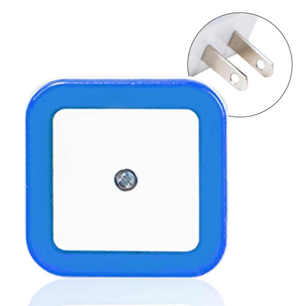 ICOCO светодиодный ночник AC 110 В 220 В Автоматический Датчик управления светом EU/US Plug 0,5 Вт настенный светильник для детская комната спальня дропшиппинг