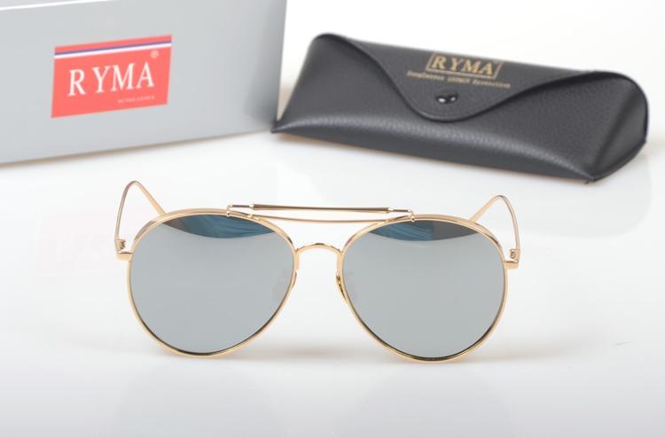 De Für Weibliche Spiegel Gold Marke Luxus Sonnenbrille Frauen Rose Runde Mode silver Sol pink Pilot Fahren 2018 Oculos Black 4q8Px66