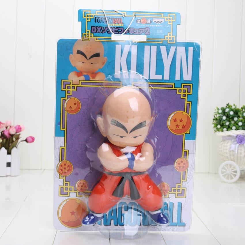 18-25 см Dragon Ball Z Dragon Ball детство Сон Гоку куририн Мастер Роши ПВХ фигурка модель игрушки - Цвет: Kuririn box