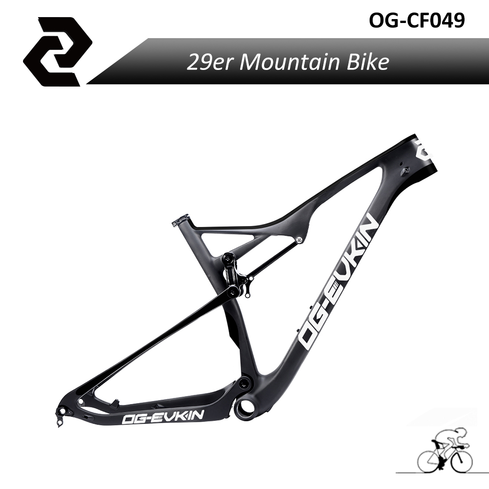 2018 EPS Bicicletas Full Toray Carbon 29er bike Frame UD Mtb Frame 29 BB92 Matt EPS for Thru Axle 15.5 17.5 19 21 29er full suspension mountain bike toray carbon fiber mtb bicicleta bicycle frame ud matt bb92 165 38mm rear shock travel 110mm