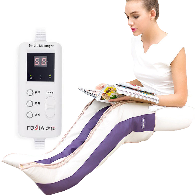 1Pair Far Infrared Magnetic Therapy Arthritis Rheumatism Treatment Device Vibration Electric Foot Leg Massager Heating Knee Pads купить дешево онлайн