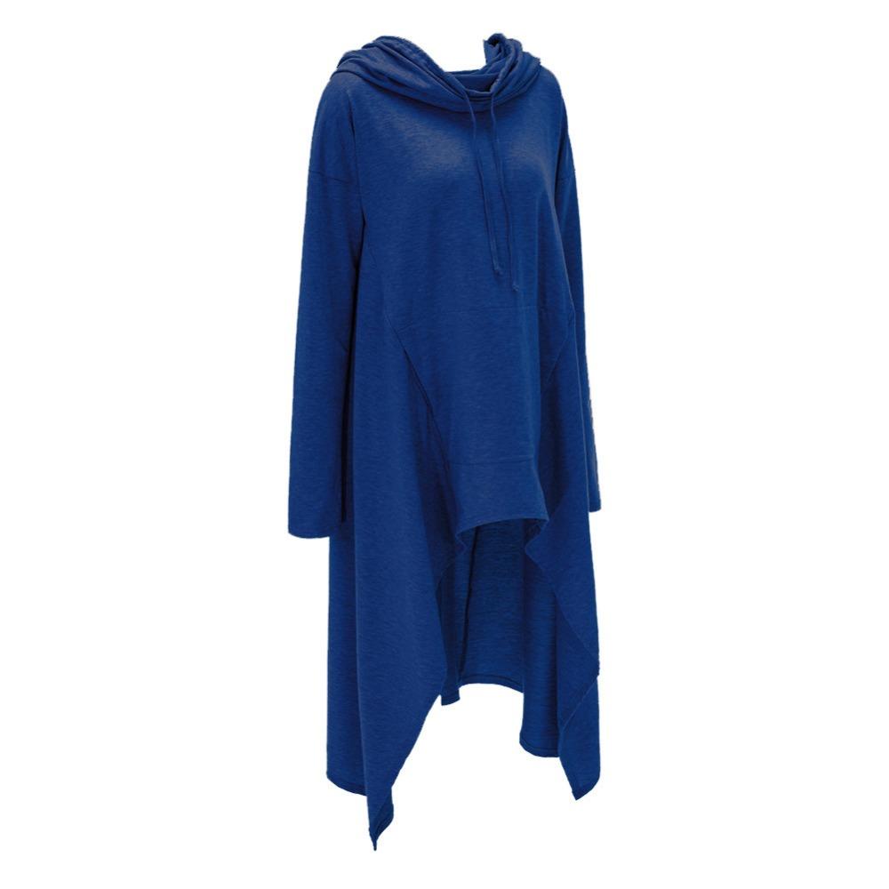 Preself Oversize Sweter Z Kapturem Bluza Kobiety Hoody Blaty Kobiet Luźna Z Długim Rękawem Płaszcz Z Kapturem Na Co Dzień Znosić Pokrywa Swetry Ubrania 17