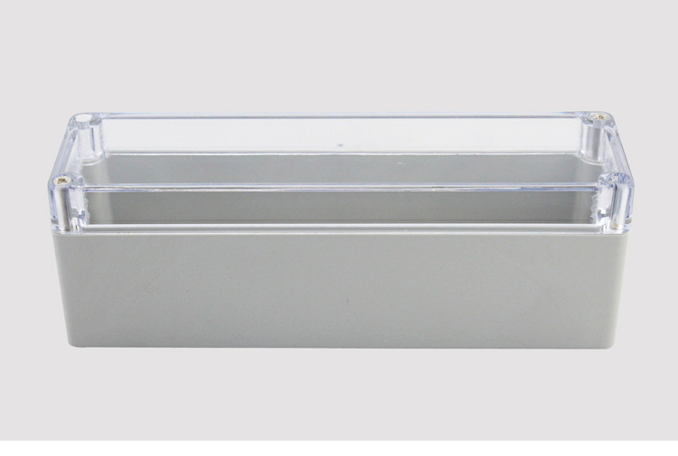 IP65 160x45x55mm Clear Cover ABS Transparent Plastic Electronic Project Waterpoof Wire Junction Box Cable Sealed Enclosure CaseIP65 160x45x55mm Clear Cover ABS Transparent Plastic Electronic Project Waterpoof Wire Junction Box Cable Sealed Enclosure Case