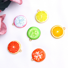 10Pcs Fashion Fruit Vegetable Alloy Charms Handmade Design Pendant for Necklace Bag Earring Diy Making Jewelry