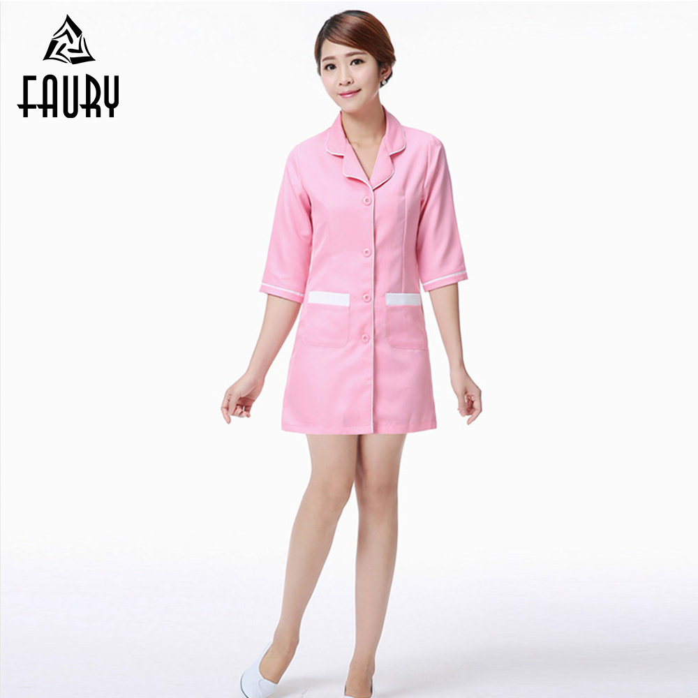 Medical Nurses Wear Beauty Salon Cosmetologist Work Clothes Oral Dental Clothing