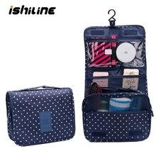 Купить с кэшбэком Hanging Travel Bag Organizer Men's Toiletry Bag Cosmetic Storage Bag Bathroom Products Luggage Travel Bags Makeup Organizer