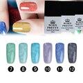 6 Colors/set 10ml BORN PRETTY Fur Effect Soak Off Nail Art UV Gel Polish Manicure 1-6/7-12