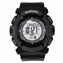 Multifunction Altimeter Barometer Hiking Fishing Outdoor Digital Sport Watch