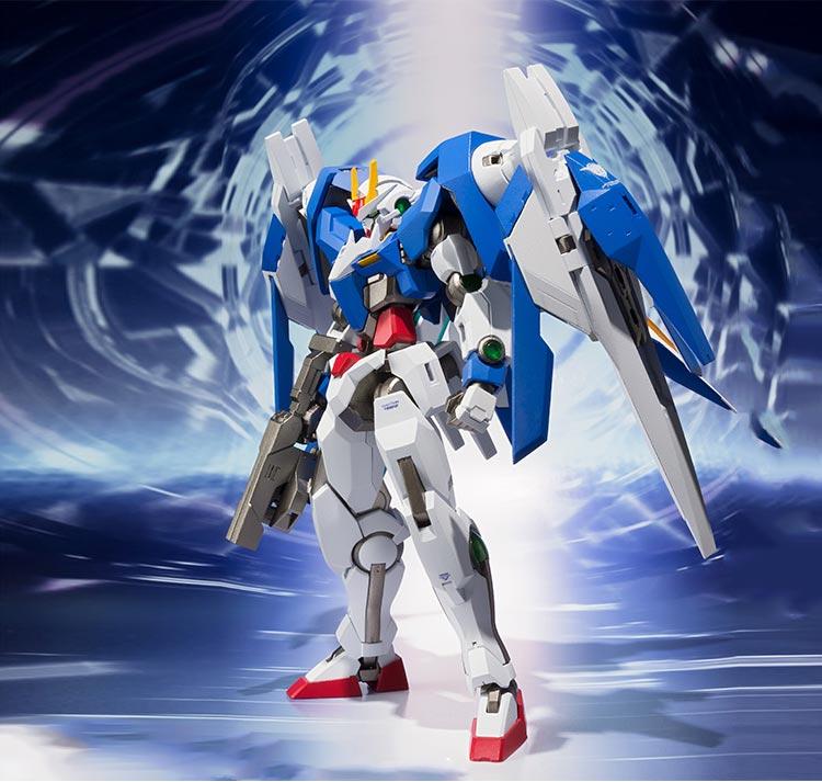Metal Robot Spirits Action Figure 00 Raiser Gn Sword Iii From Quot Mobile Suit Gundam 00 Quot E02 In