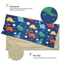 Highchair Splash Mat Baby Paint Splash Mat Large Protective Floor Splash Mat Waterproof and Anti Slip 140cmX140cm