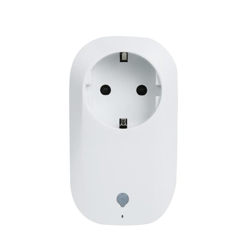EU Plug Wifi Mini Smart Socket Switch Wireless Remote Control Automation Power Socket Timer Switch for IOS Android Smartphone inqmega wireless wifi socket app remote control smart wifi power plug timer switch wall plug home appliance automation eu style
