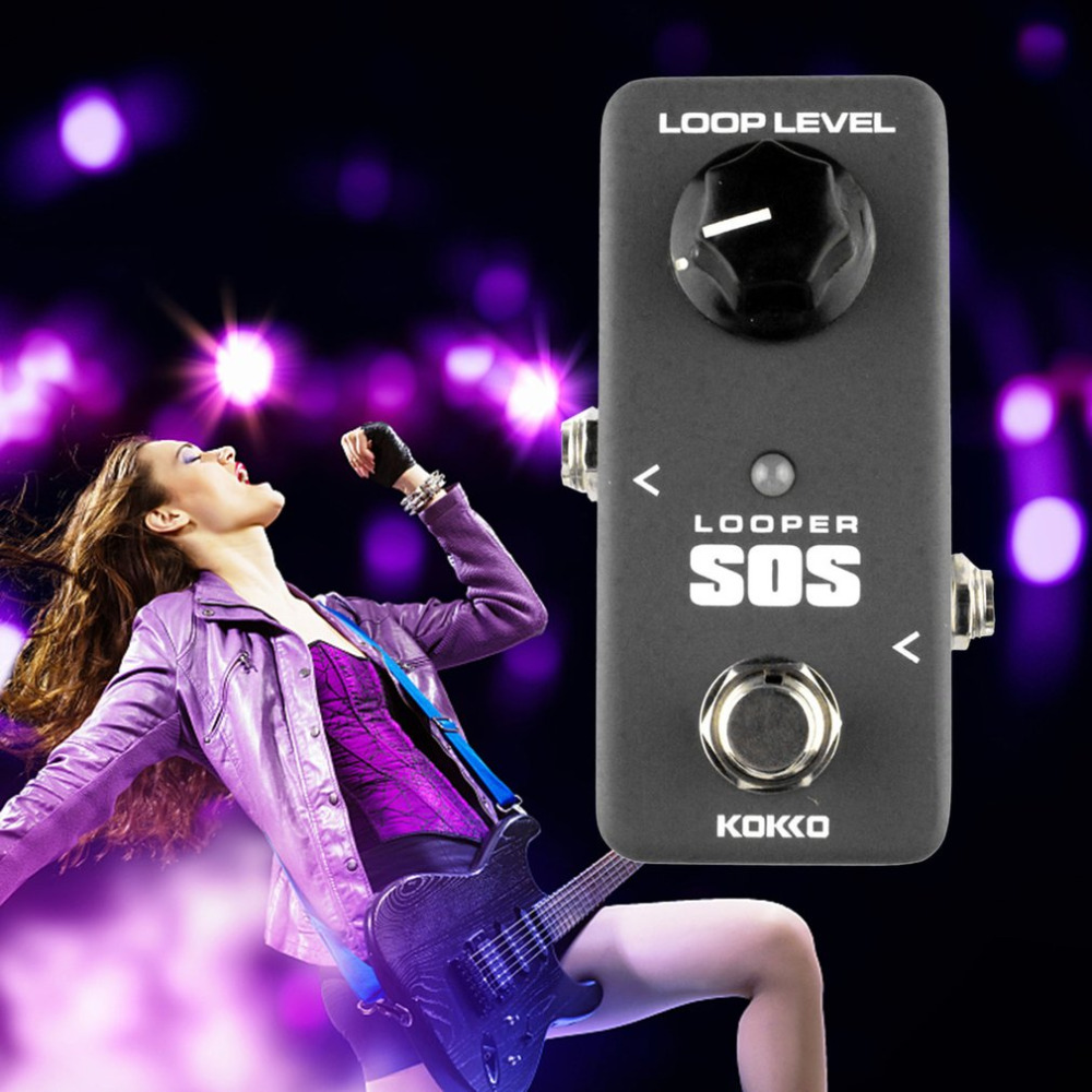 KOKKO FLP2 LOOP MINI Looper SOS Guitar Loop Pedal Looper Effects 5 Minutes Looping Time Loop Station Professional Guitar NewKOKKO FLP2 LOOP MINI Looper SOS Guitar Loop Pedal Looper Effects 5 Minutes Looping Time Loop Station Professional Guitar New