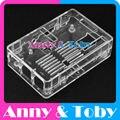 Модель S6: Raspberry PI 3 модель B Прозрачный Корпус Корпус Корпус ABS Пластиковые Окна для Ран pi 2 и Raspberry PI Модель B +