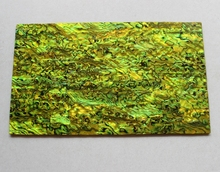 thick green yellow abalone shell paua shell laminate sheets 1.5mm thick 140x240mm shell paper furniture inlay guitar accessories